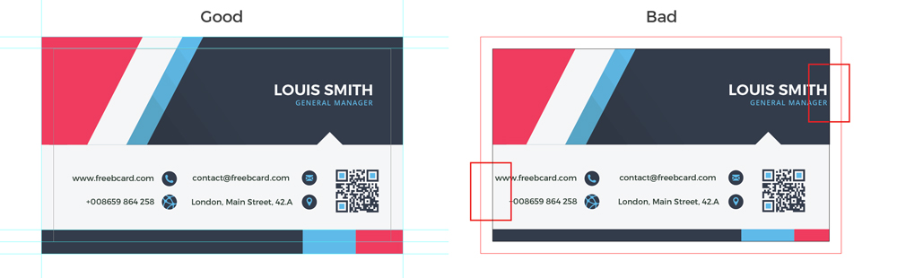 business card size specifications freebcard